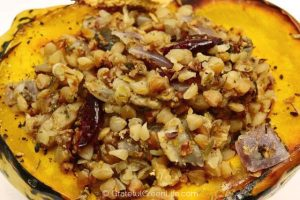 stuffed buckwheat squash recipe