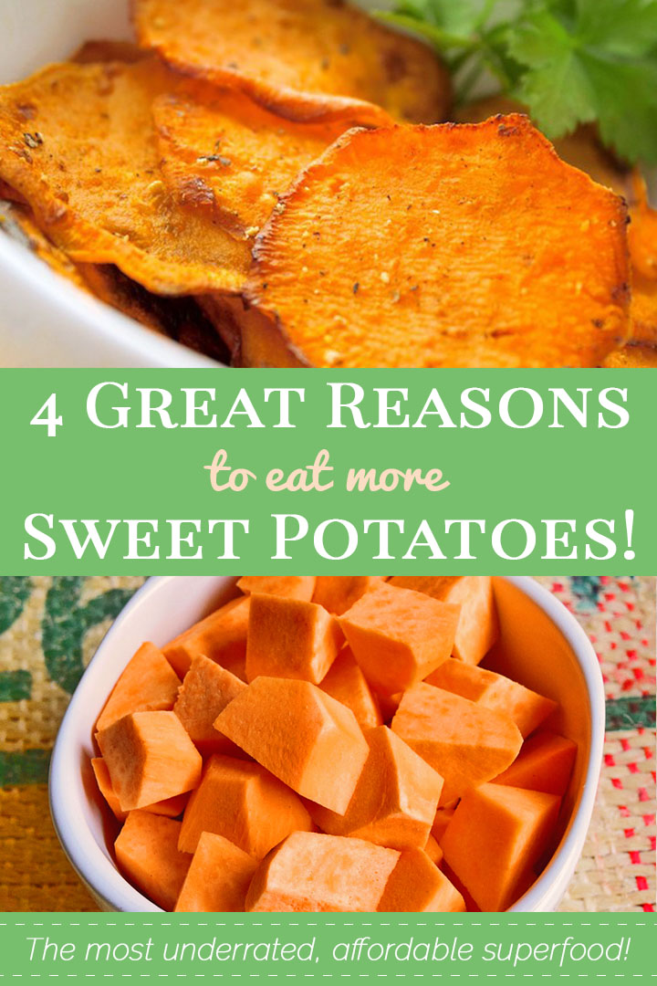 4 Great Reasons to Eat More Sweet Potatoes!