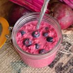 Beetroot and Blueberry Overnight Oats Recipe