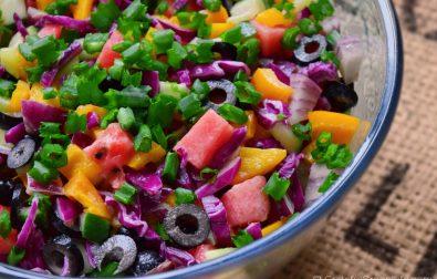 easy-olive-watermelon-salad
